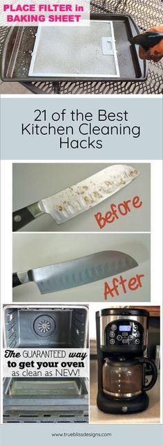 21 best cleaning hacks