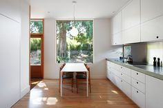 """Before & After – A """"Gentle"""" Contemporary Update Of A 1914 Craftsman Home"""