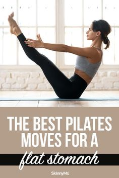 The Best Pilates Moves for a Flat Stomach
