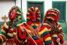 Caretos de Podence, la máscara ibérica o el carnaval tradicional de Portugal. cc-by-sa Rosino