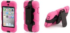 Survival of the fittest – kid-proof cases for iPod & iPhone. WANT