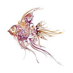 Awesome 'Beautiful+Fish' design on TeePublic!
