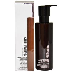Smooth and deeply nourish your hair with Shu Uemura's smoothing conditioner. Meant for coarse and unruly hair, this nourishing conditioner is enriched with black cumin oil to give hair a natural softn