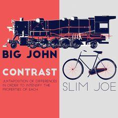 Friday Free Font 77 Big John and Slim Joe come... • typostrate