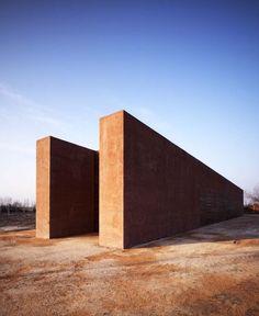 Terracota  concrete - Depuradora en Sant´Erasmo - C+S Associati 2008 Photo: Pietro Savorelli