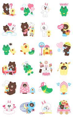 画像 - LINE Characters: Pastel Cuties by Line - Line.me