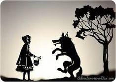 Resultado de imagen para siluetas de personajes de cuentos