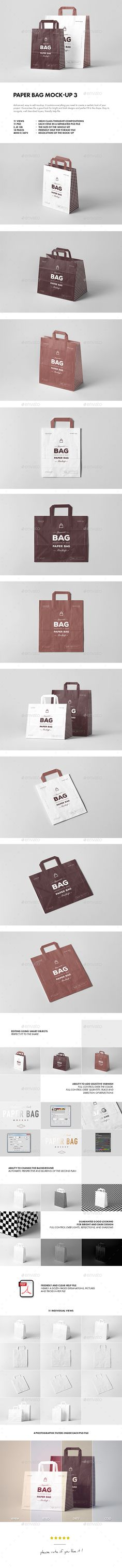 #Paper #Bag Mock-up 3