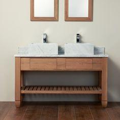 mueble de mármol y madera