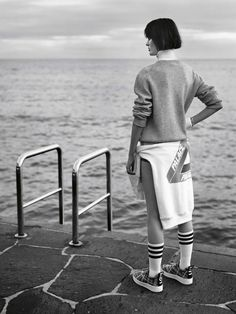 visual optimism; fashion editorials, shows, campaigns & more!: on your marks: sam rollinson by alasdair mclellan for uk vogue march 2014