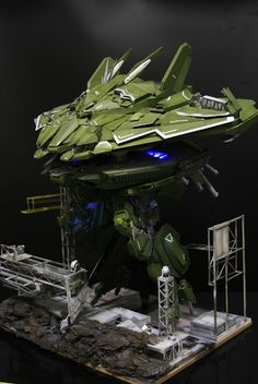 1/144 Big Zam Full Scratch Build with Diorama - Gundam Kits Collection News and…