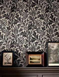 William Morris Thistle Wallpaper at Finest Wallpaper