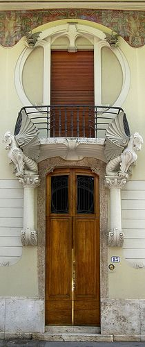 Liberty a Firenze: Villino G. Lampredi, Tuscany