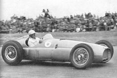 1951 BRM 15 f1 car with Reg Parnell
