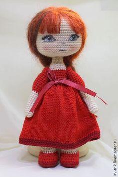 """Человечки ручной работы. Ярмарка Мастеров - ручная работа Вязаная игрушка Кукла """"Лиза"""". Handmade."""
