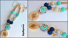 Nursing necklace / Teething necklace / by ForYourHappyBaby on Etsy