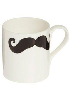 Mustache gift bag - mug