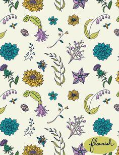 (98) Geo Garden and Flourish by Josie Mallette - Skillshare