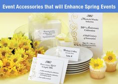 Celebrate spring with a party! Paperdirect has the perfect accessories to go along with your event.