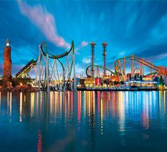 Universal's Islands of Adventure and Universal Studios