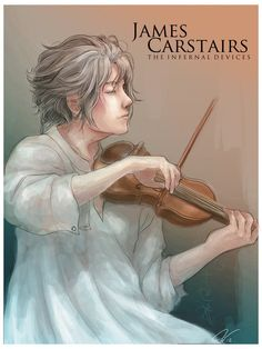 James Carstairs fan art. I think he's more handsome, but OH WELL c: