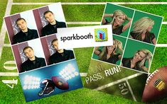 Create Your Own Photo Booth for Your Football Parties Diy Photo Booth, Football Photos, Get Started, Create Your Own, Software, Memories, Party, Free, Memoirs