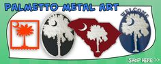 Metal Art Palmetto Traditions - Southern Fashion Trends