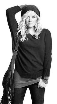 I love Reese Witherspoon's style. She is a mom that has real style that is realistic for me.