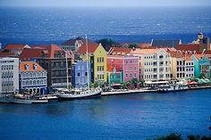 Willemstad, quartiere di Punda, Curacao.