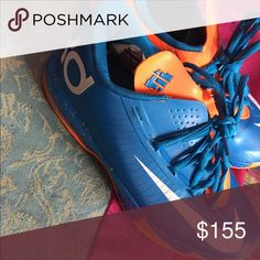 KDs( Kevin Durant) Great fashion sneaker 👟 very minimal wear and tear! Shoes Athletic Shoes