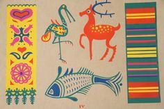 Polish Folk Art Print van nbdg op Etsy