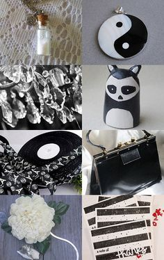 Black and White by Ann Longfellow on Etsy--Pinned with TreasuryPin.com #EtsyRMP #Etsy #PayItForward