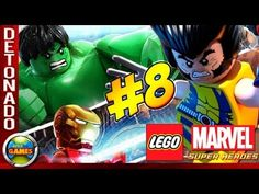 LEGO Marvel Super Heroes Parte #8 Confusão na Prisão Walkthrough