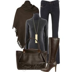 """Heather and Chocolate"" by orysa on Polyvore"