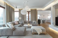 Inspirational Modern Living Room Designs Decor your home with contemporary and luxury living rooms that would make your home comfortable Home Living Room, Interior Design Living Room, Living Room Designs, Living Room Decor, Luxury Living, Modern Living, Luxury Rooms, Modern Family, Living Room Modern