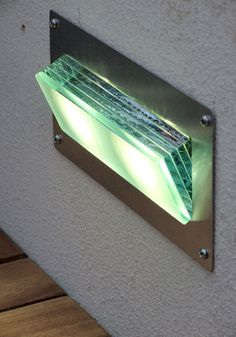 Surface mount step-lights and recessed step lighting for steps, stairs and around terrace areas. Lighting ideas for gardens. Strip Lighting, Modern Lighting, Outdoor Lighting, Lighting Shops, Driveway Lighting, Exterior Lighting, Led Step Lights, Solar Lights, Bollard Lighting