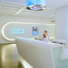 design of reception desk