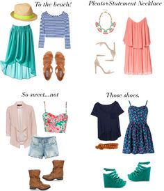 4 Summer Outfit Ideas 2013