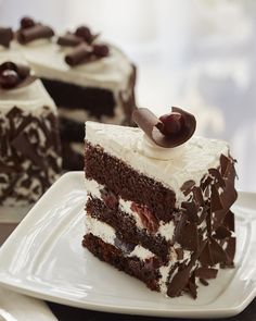 Your taste buds will love this dark, decadent cake baked with Domino® Golden Sugar, packed with chocolate flavor and topped with tart cherries. Cake Recipes, Snack Recipes, Dessert Recipes, Snacks, Just Desserts, Delicious Desserts, Yummy Food, Cake Cookies, Cupcake Cakes