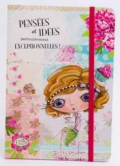 """VERITY ROSE Carnet """"Pensées et idées"""", Miss Cupcake - Papeterie/Carnets & Bloc Notes - Lulu Shop"""