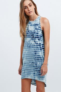 Silence + Noise Whenever Wherever Dress in Blue - Urban Outfitters (totally feeling how 90's this is)