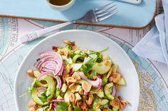 Thai Gurkensalat mit Erdnüssen und Chili