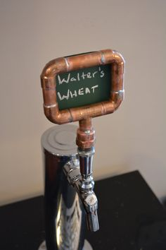 Copper Pipe Tap Handle Industrial Beer Tap By