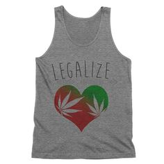 Legalize Marijuana Tank Top    American Weed Tank Top    420, smoke weed, stoner clothes, hippuy fashion, festival clothes, marijuana shirt, pot leaf, girls who smoke,    This must-have unisex tank is updated with a modern fit, featuring a rounded neck and designed with superior combed and ring-spun cotton. Unisex sizing.    White - 100% combed and ring-spun cotton.  Tri Blend - 50% poly 25% combed and ring-spun cotton and 25% rayon