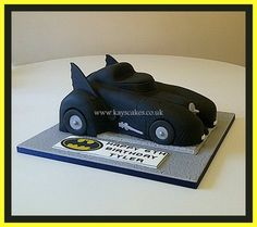 3D Batmobile Cake  Cake by kayscakes