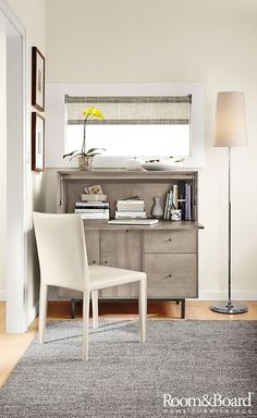 Linear Office Armoires With Steel Base | Desks, Armoires And Murphy Bed