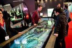 Multi-touch screens were some of the most prominent technologies on display at ISE 2013 #doohdas likes this!