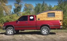 The Terrapin: Handmade wooden camper is a home of simplicity : TreeHugger