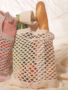 Market Bag | Yarn | Free Knitting Patterns | Crochet Patterns | Yarnspirations
