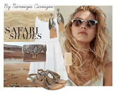 """""""Safari shades snake addition"""" by wwwcarouzoucom ❤ liked on Polyvore featuring Accessorize"""